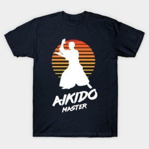 aikido master martial arts shirt
