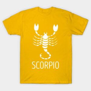 astrological zodiac scorpio shirt