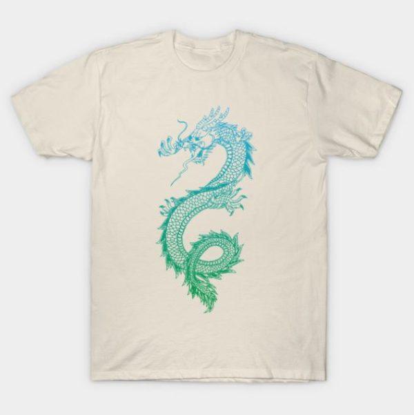 awesome asian dragon t shirt
