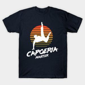 capoeria master martial arts shirt