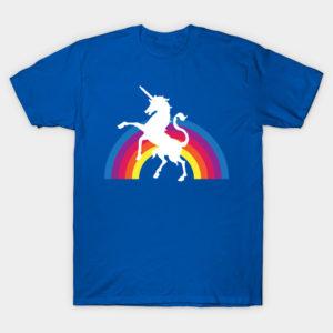extra special rainbow unicorn tee shirt