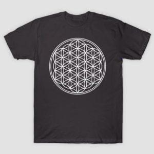 flower of life sacred geometry shirt