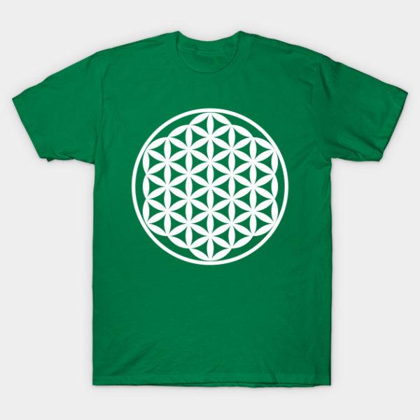 flower of life sacred geometry t shirt