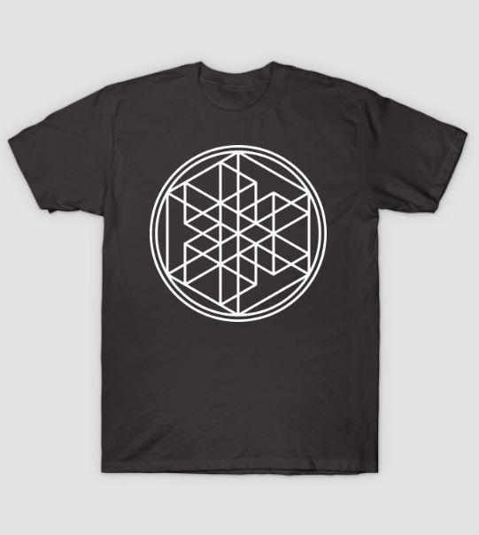 multi dimensional cube tshirt