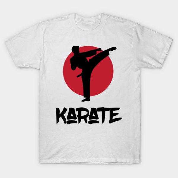 martial arts karate t shirt
